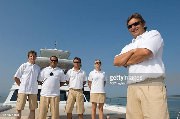 crew of a yacht