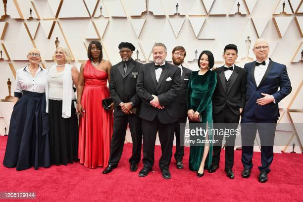 Crew of 'American Factory' including Steven Bognar and Julia Reichert attend the 92nd Annual Academy Awards at Hollywood and Highland on February 09...
