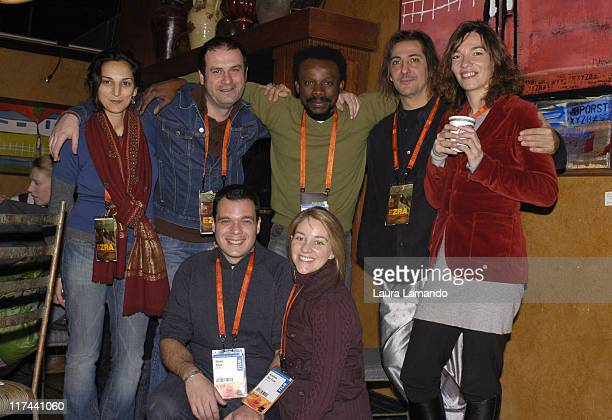 Crew of 'Ezra' Top row Lamia Guellati executive producer JeanMichel Dissard executive producer Newton Aduaka director Nicholas Baby composer Valerie...