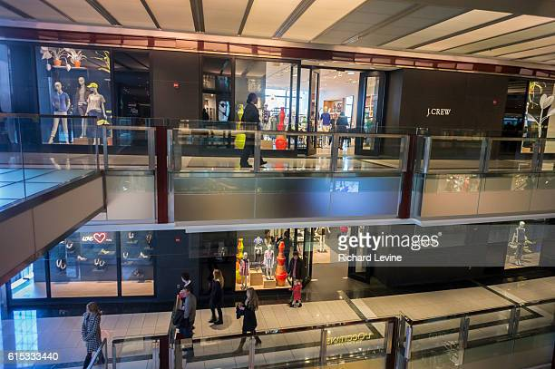 Crew store in the Time Warner Center in New York is seen on Saturday, March 1, 2014. J. Crew posted a smaller loss during the holiday quarter, only...