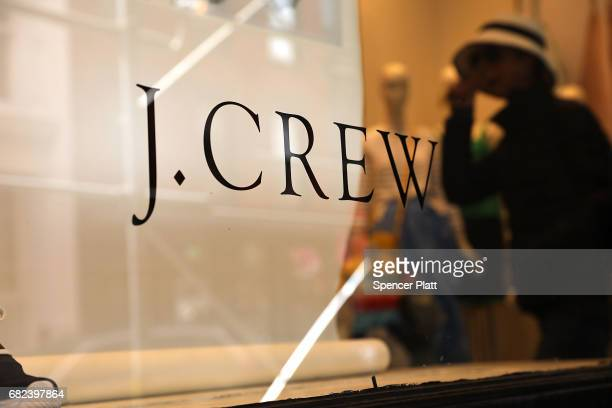 A J Crew store stands in lower Manhattan on May 12 2017 in New York City Comparable sales for the apparel retailer fell 67% in its most recent fiscal...