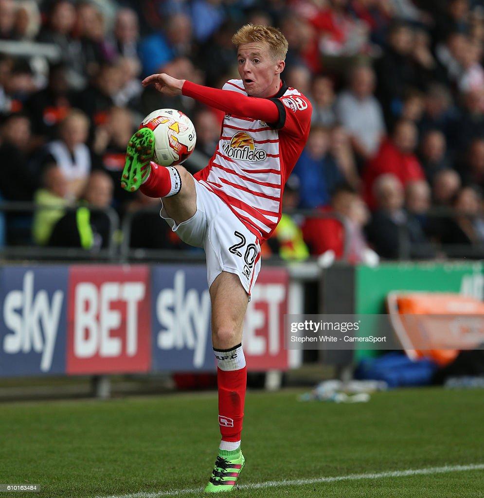 Crewe Alexandra v Blackpool - Sky Bet League Two : News Photo