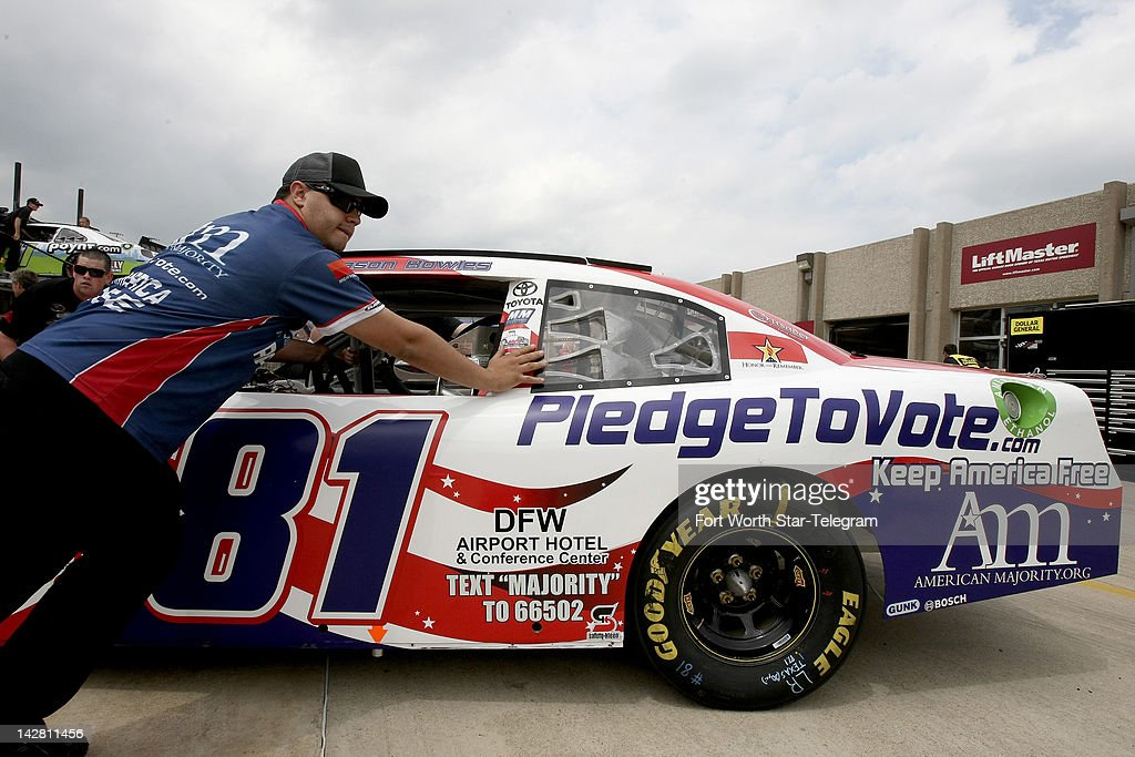 Texas Car Inspection >> Crews Prepare The American Majority Car For Inspection In