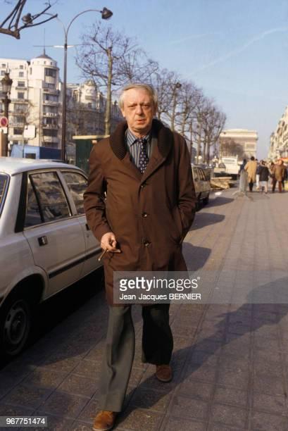 L'écriavain britannique Anthony Burgess à Paris le 23 février 1983 France