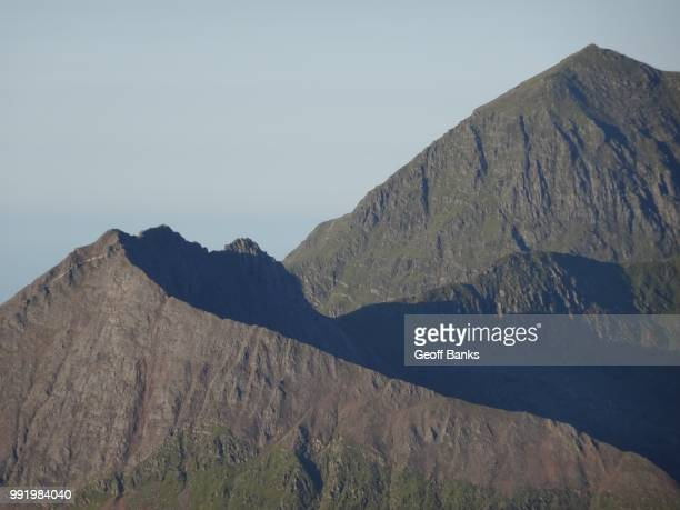 crib goch - goch stock photos and pictures