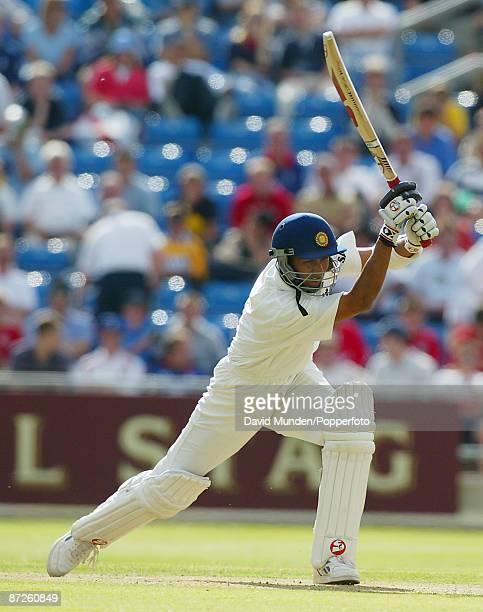 Cricket 3rd test England v India at Headingley Leeds 1st day SANJAY BANGAR / INDIA