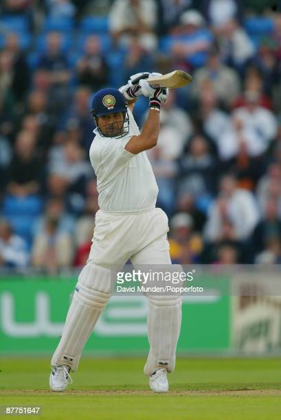 Cricket 3rd test England v India at Headingley Leeds 1st day SACHIN TENDULKAR / INDIA