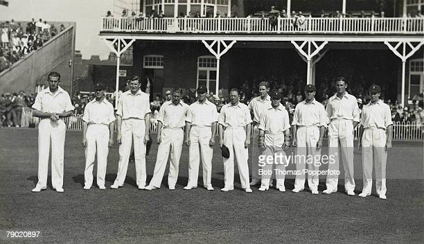 Cricket A picture of the South African Cricket team that toured England LR JA Christy HG OwenSmith AS Bell Q McMillan El Dalton HW Taylor CL Vincent...