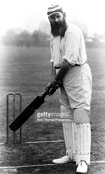 Cricket, A picture of WG , who was a doctor and the most famous of all cricketers who dominated the game from 1871 until the turn of the century,...