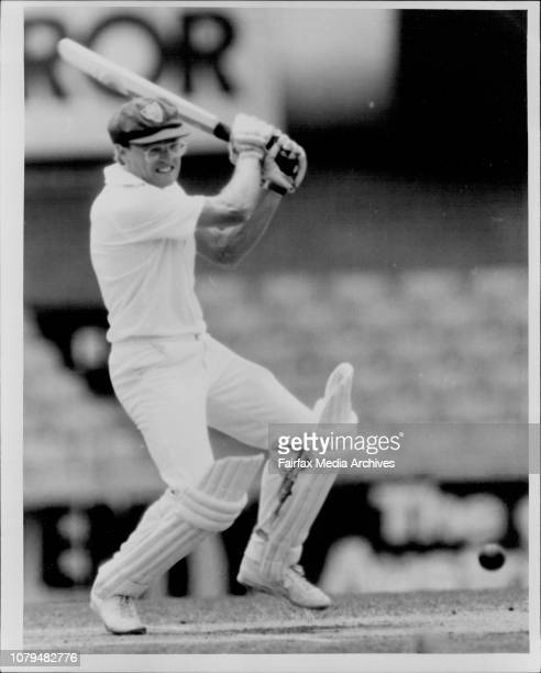 Cricket At The SCG Wellham cuaght behind off Reid for 11 December 7 1985