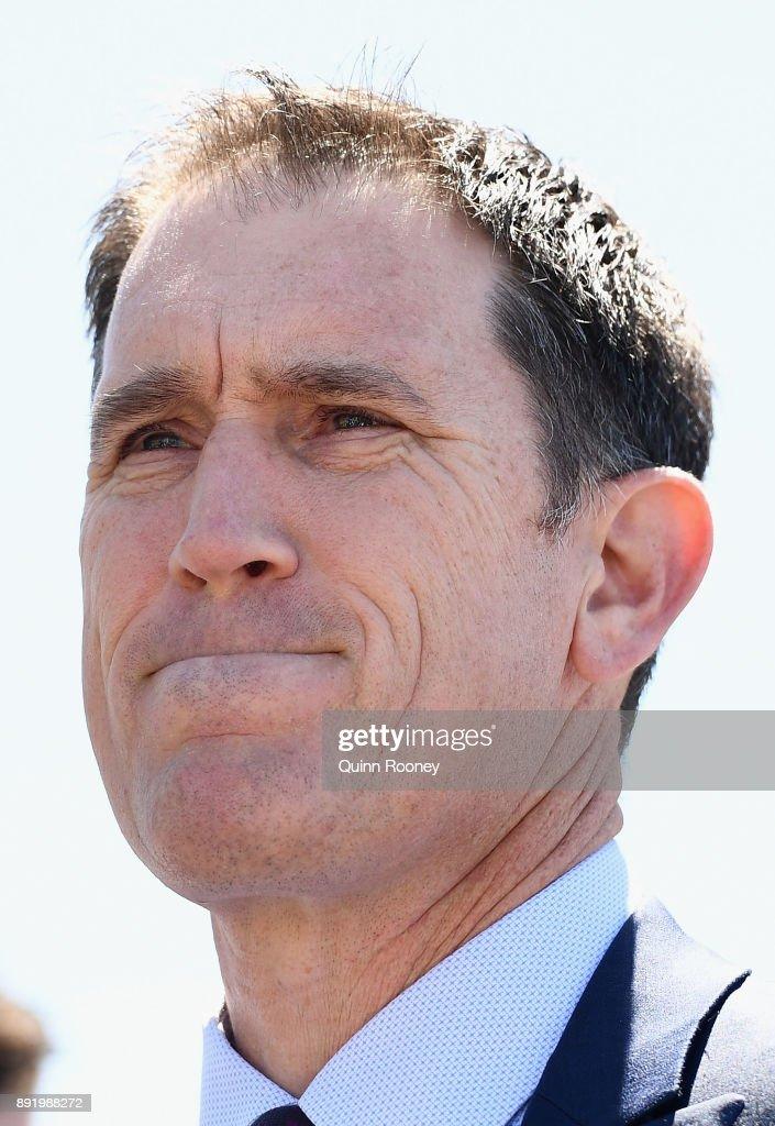 Cricket Australia CEO James Sutherland Press Conference