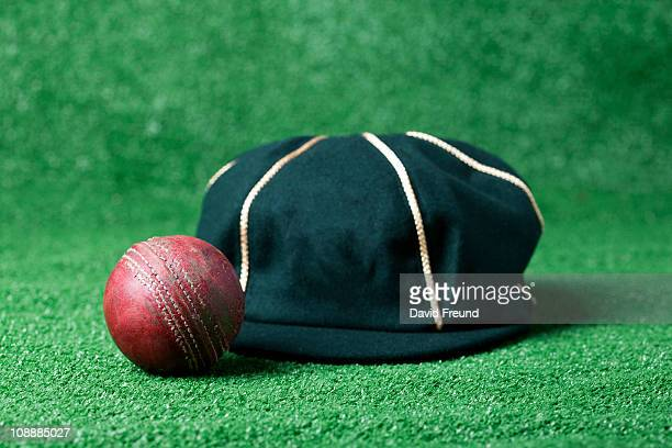 Cricket Ball and Baggy Green