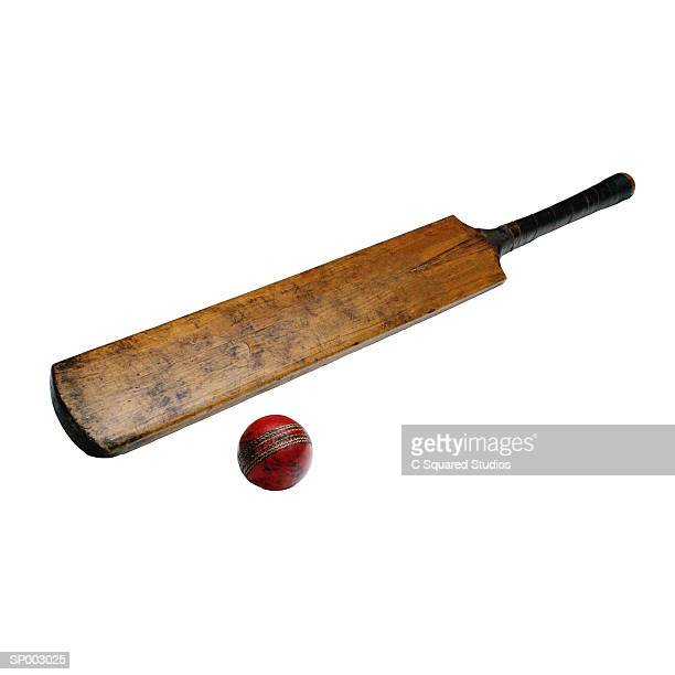 cricket bat and ball - cricket bat stock pictures, royalty-free photos & images