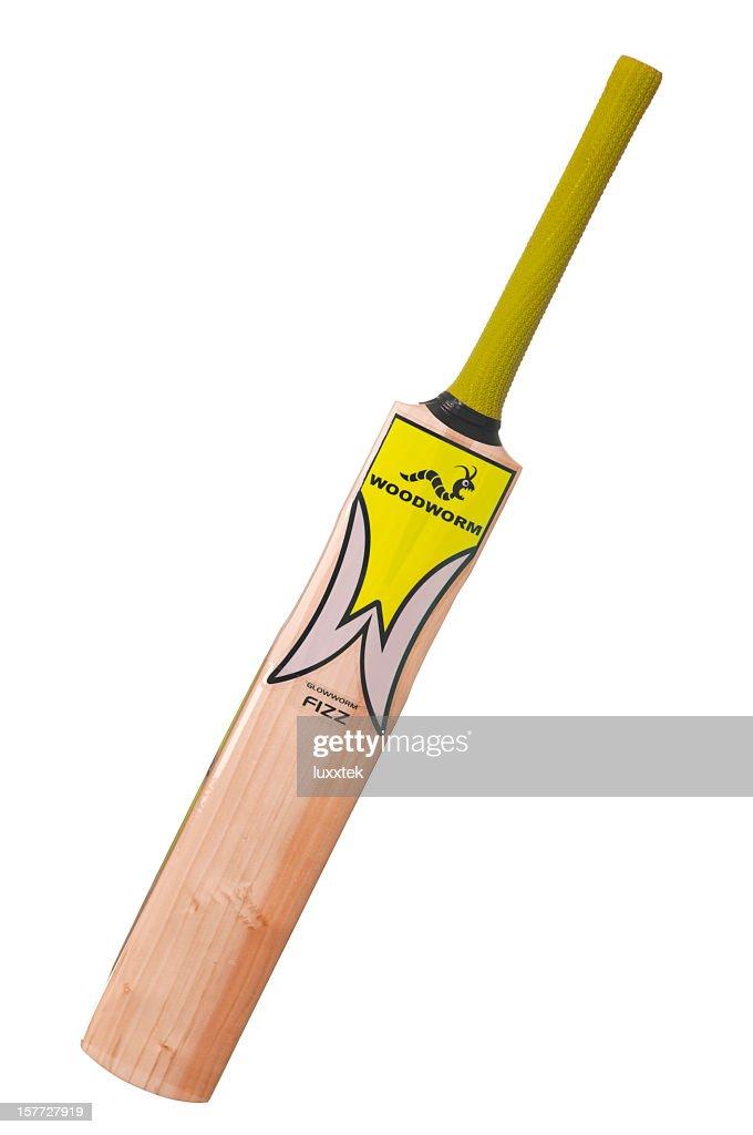 Cricket bat isolated : Stock Photo
