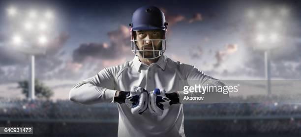 Cricket: Schlagmann auf dem Stadion