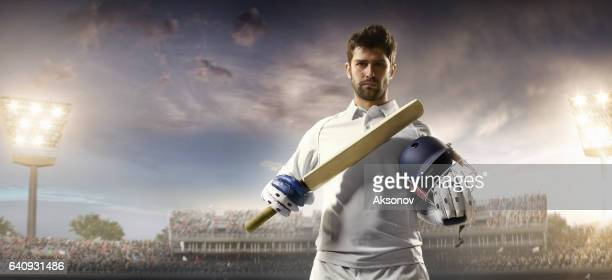 Críquet: Bateador en el estadio