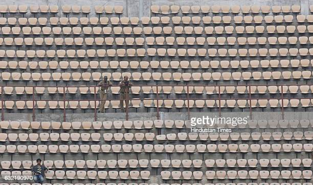 Cricket Champions League T20 CLT20 The stands were empty during the Airtel Champions Twenty20 League A match between Somerset CCC and the NSW Blues...