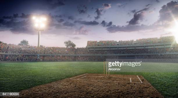 Cricket: Cricket stadium