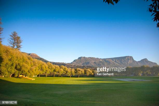 cricket field. constantia uitsig estate. cape town rsa - constantia stock pictures, royalty-free photos & images