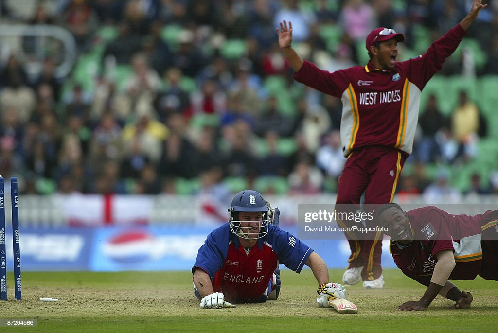 ICC Champions Trophy 2004 Final England V West Indies At The Oval ANDREW