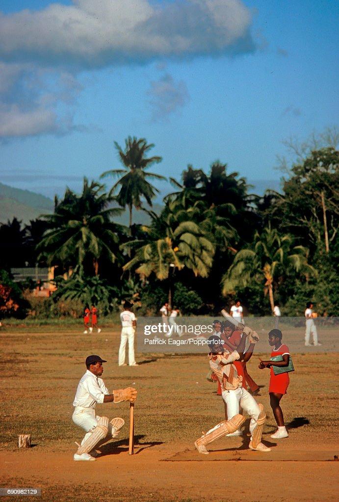 Cricket in Trinidad : News Photo