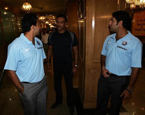 Indian Cricket Team Bangladesh Tour 2007 : News Photo