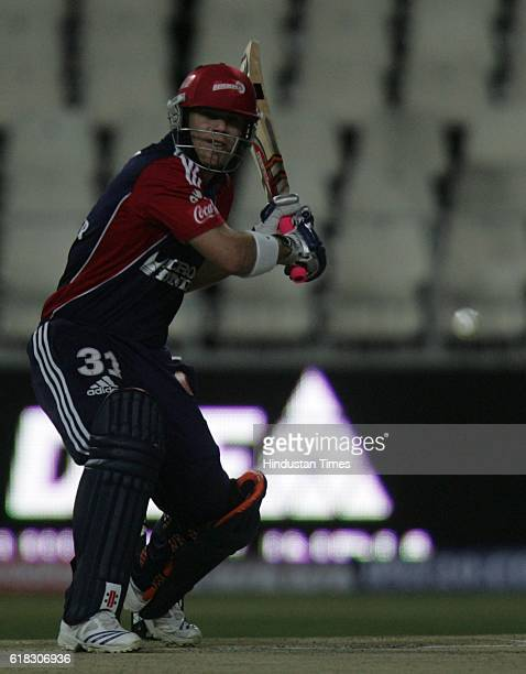 Cricket IPL2 Delhi's batsman David Warner bats during the match between Delhi and Chennai at Wanderers groundJohannesburg