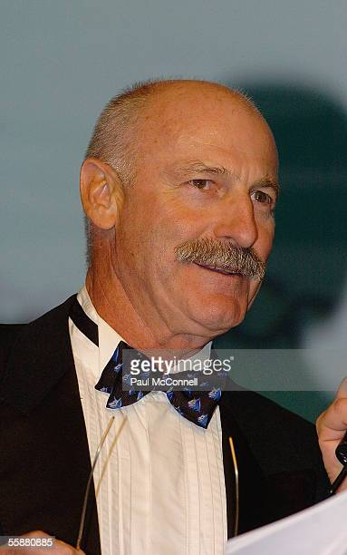 Cricket legend Dennis Lillee attends the Sony Foundation True Colours Gala Ball held at Wharf 8 on October 8 2005 in Sydney Australia