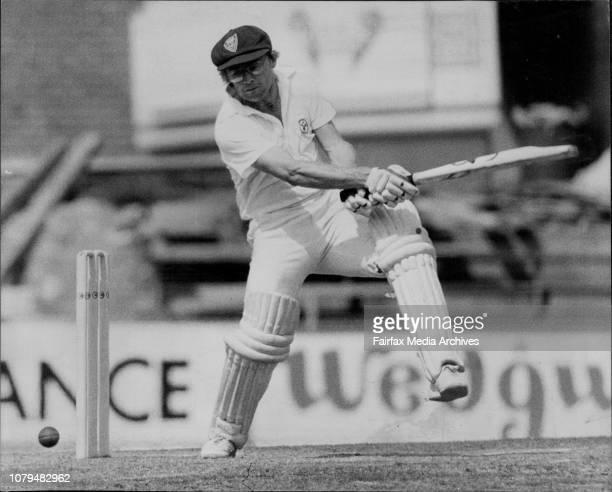 NSW V WAWellham misses MacleayDirk Wellham gusty retort November 15 1982