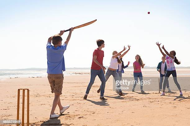 Cricket On The Beach