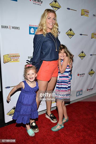 Cricket Pearl Silverstein Busy Philipps and Birdie Leigh Silverstein attend the Milk Bookies' 7th Annual Story Time Celebration on April 17 2016 in...