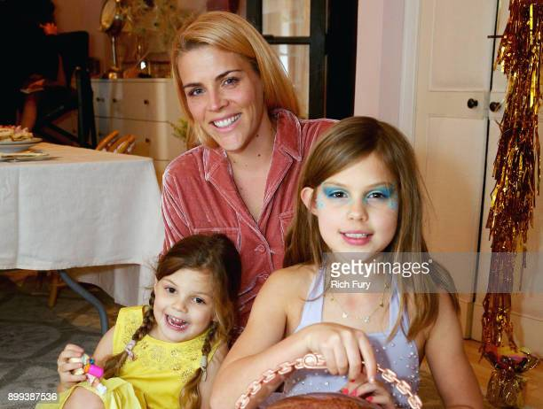 Cricket Pearl Silverstein Busy Philipps and Birdie Leigh Silverstein attend LOL Surprise NYE Party Hosted by Busy Phillips Sara Foster with daughters...
