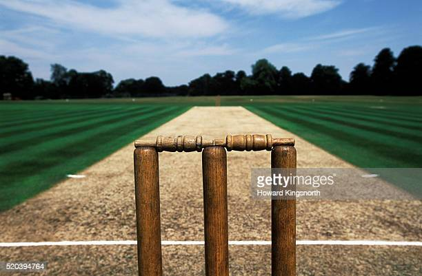 Cricket Pitch, England, South London