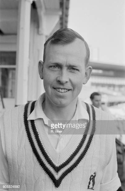 Cricket player Neal Abberley of Warwickshire County Cricket Club 1st May 1968