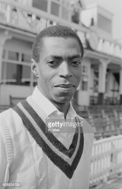 Cricket player Lance Gibbs of Warwickshire County Cricket Club 1st May 1968
