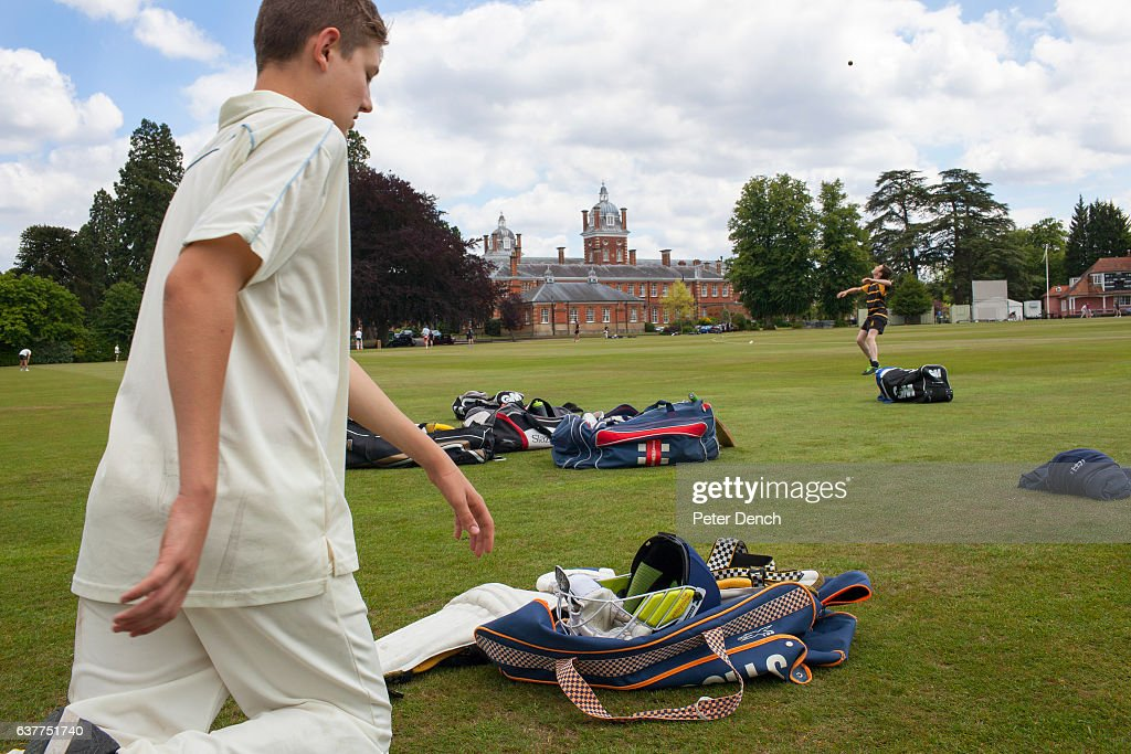 Cricket practice at Wellington College. Wellington College is a British co-educational boarding and day independent school in the village of Crowthorne in Berkshire. Wellington currently has just over 1000 pupils aged between 13 and 18. It was built as a national monument to the Duke of Wellington (1769–1852), after whom the School is named. Her Majesty Queen Victoria laid the foundation stone in 1856 and inaugurated the School's public opening on 29 January 1859.