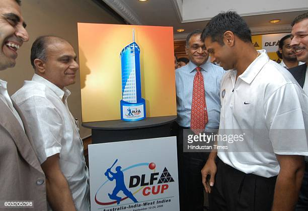 Cricket RAHUL DRAVID AND SHAILENDRA SINGH