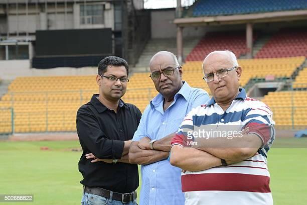 Cricket Statistician S Rajesh, Senior Editor of Stats - ESPN Cricinfo, Gopala Krishna, official statistician for the KSCA, and Cricket statistical...