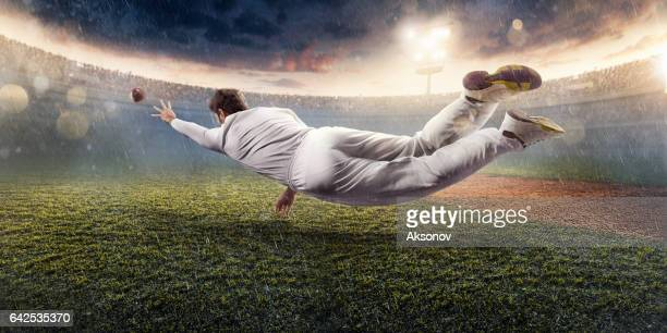 cricket: the game moment - cricket pitch stock pictures, royalty-free photos & images