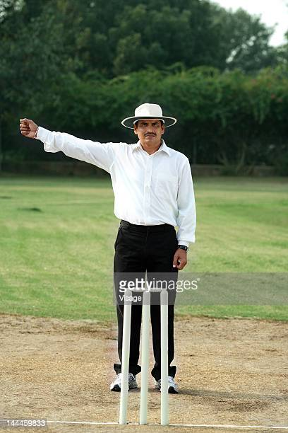Cricket Umpire Stock Photos and Pictures | Getty Images