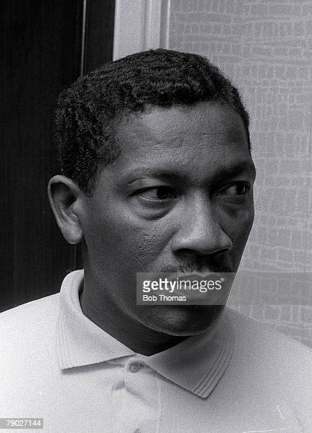 Cricket, West Indies Touring Team Portrait of West Indian batsman Basil Butcher