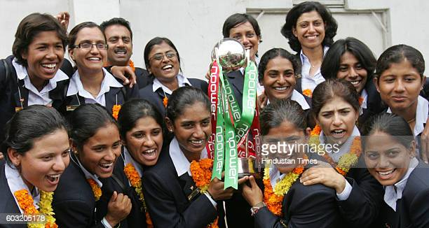 Cricket Women's Indian Cricket team arrived at Sahar International Airport Andheri