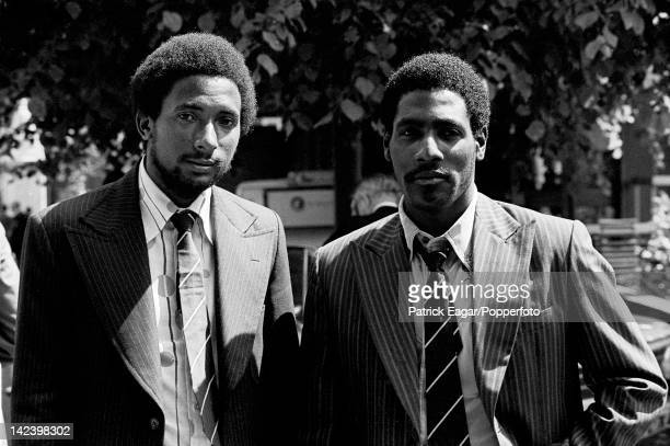 Cricket World Cup 1975 Andy Roberts and Viv Richards both from Antigua at Lord's before the first World Cup 6092424