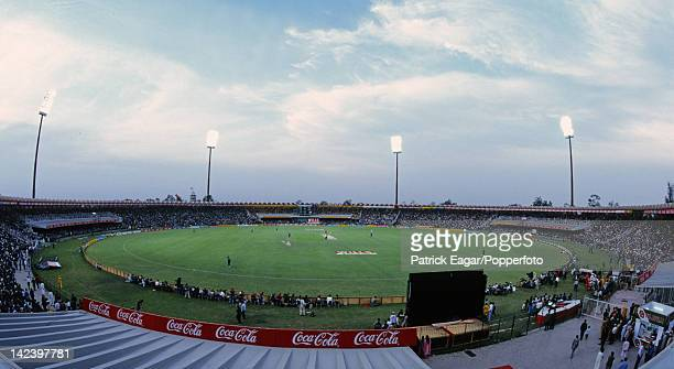 Cricket World Cup 1996 Final Sri Lanka v Australia at Lahore General view of the ground during play 5965000