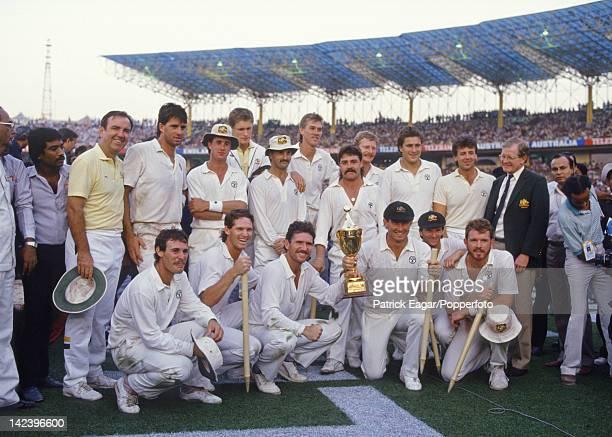 Cricket World Cup Final Calcutta 1987 Australia beat England The winning Australian team I875073