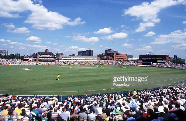 Cricket World Cup SemiFinal Old Trafford 16th June Pakistan beat New Zealand by 9 wickets General view of the Old Trafford ground in Manchester...
