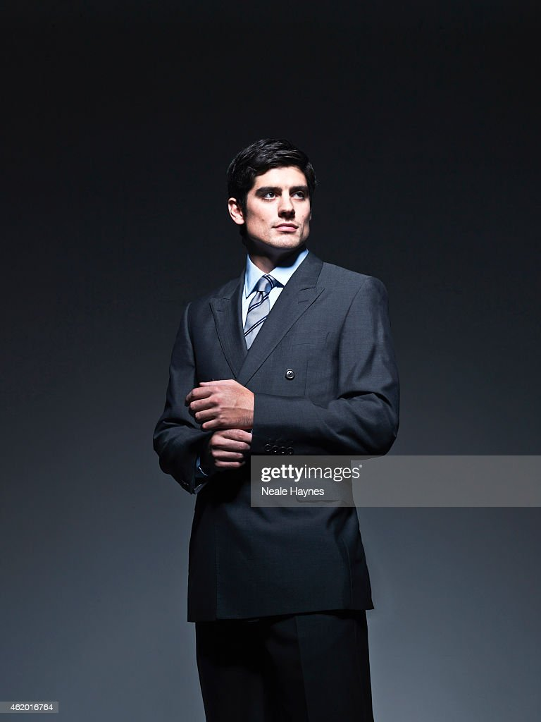 Cricketer Alastair Cook Is Photographed For Austin Reed Clothing On News Photo Getty Images