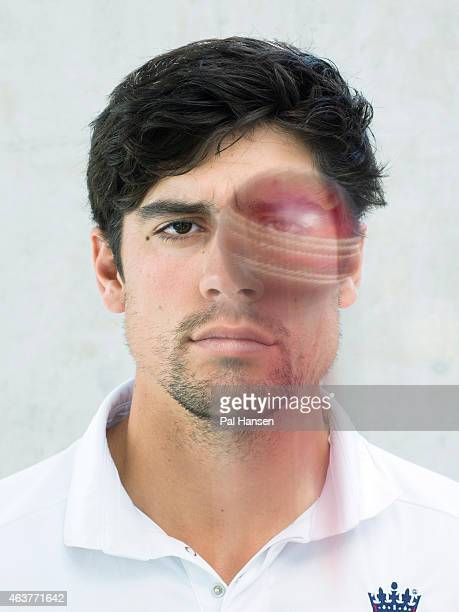 Cricketer Alastair Cook is photographed for the Observer on August 24 2014 in London England