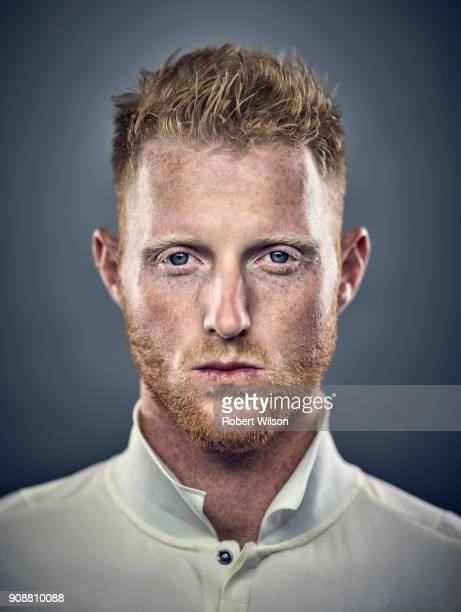 Cricketer Ben Stokes is photographed for the Times on August 31 2017 in London England