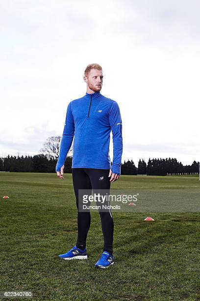 Cricketer Ben Stokes is photographed on March 1 2016 in London England